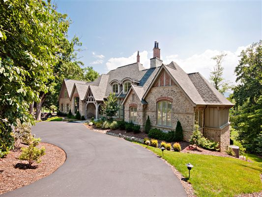 Custom built french country luxury home north carolina for French country houses for sale