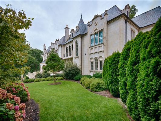 Elegant French Chateau North Carolina Luxury Homes