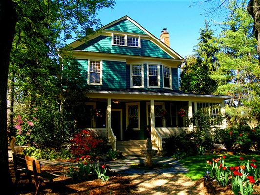 Elegant home in historic montford north carolina luxury for Asheville mountain homes