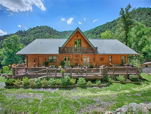 Beautiful Custom Cypress Log Home North Carolina Luxury