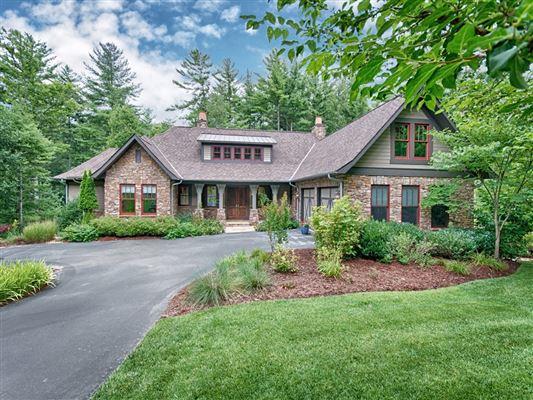 Amazing asheville mountain home north carolina luxury for Asheville mountain homes