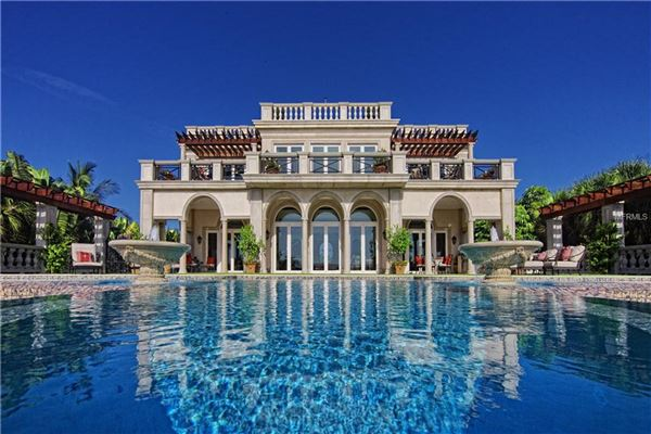 VILLA PALLADIO ON CASEY KEY | Florida Luxury Homes | Mansions For Sale |  Luxury Portfolio