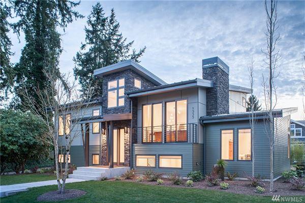 Custom Mid Century Modern Washington Luxury Homes
