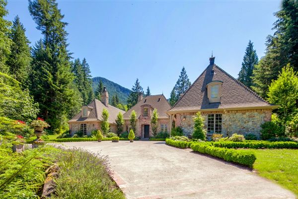 Timeless French Country Estate Home Washington Luxury