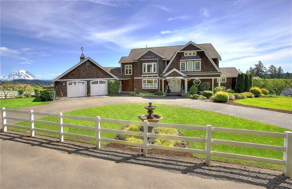 Equestrian and country estate washington luxury homes for Country style homes wa