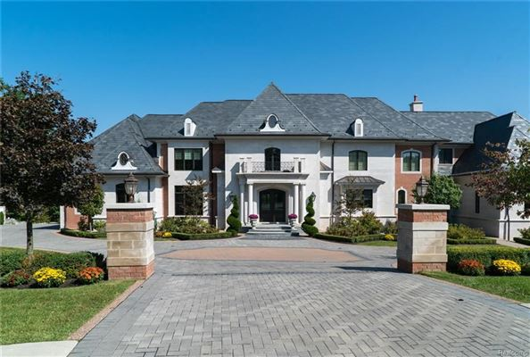 Attractive STUNNING FRENCH CHATEAU ESTATE IN ROCHESTER | Michigan Luxury Homes |  Mansions For Sale | Luxury Portfolio
