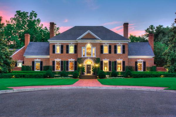 Meticulously renovated french provincial georgia luxury Luxury home builders usa