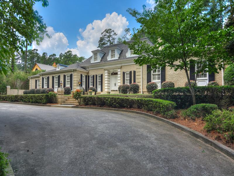 Meticulously renovated french provincial georgia luxury for South georgia custom homes