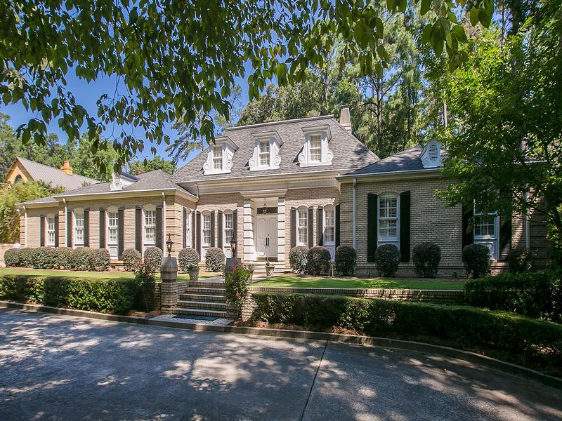 Meticulously renovated french provincial georgia luxury for French provincial homes for sale
