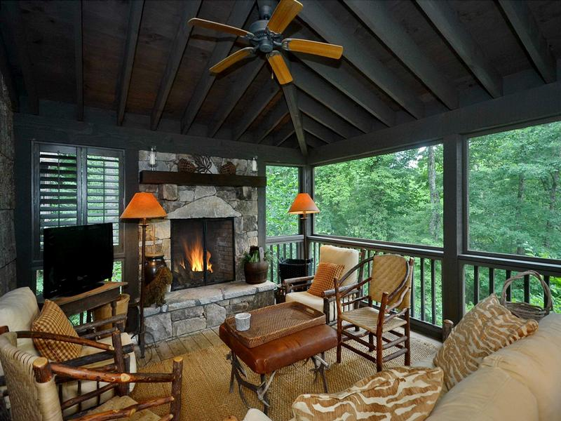 Storybook Cottage With Mountain Views North Carolina