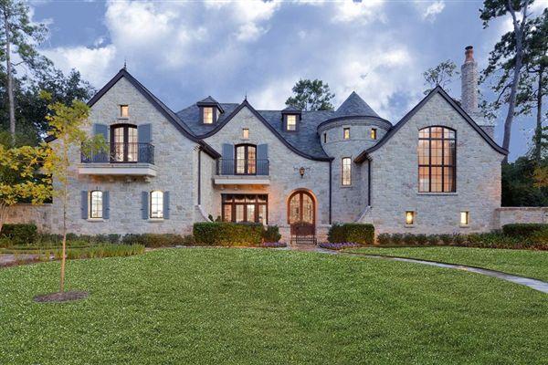 Impressive French Manor House Texas Luxury Homes