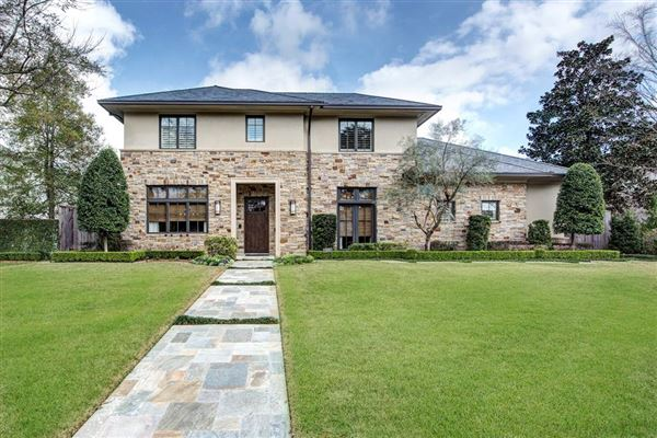 Outstanding modern craftsman style residence texas for Craftsman style homes for sale dallas tx