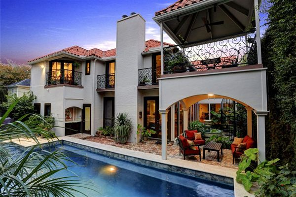Wonderful Spanish Style Home Texas Luxury Homes