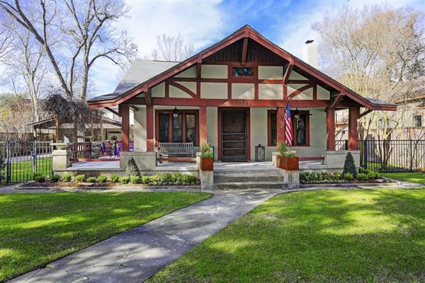 Spectacular Houston Craftsman Bungalow Texas Luxury
