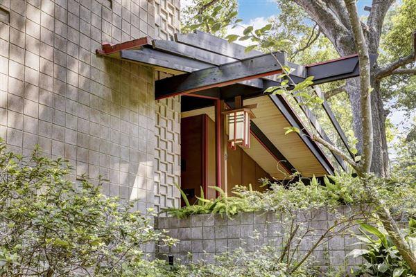 Fabulous Mid Century Modern In River Oaks Texas Luxury