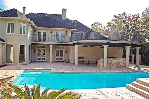 DRAMATIC HOUSTON LUXURY HOME Texas Luxury Homes