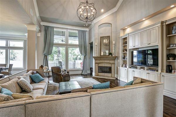 Beautiful california style open floor plan texas luxury for Luxury open floor plans
