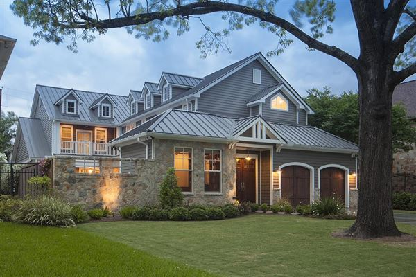 Stunning Craftsman Style Custom Home Texas Luxury Homes