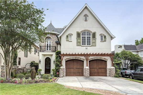 Gorgeous french country style home texas luxury homes for French country home for sale
