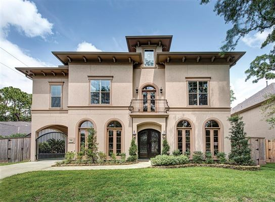 MEDITERRANEAN STYLE NEW CONSTRUCTION Texas Luxury Homes