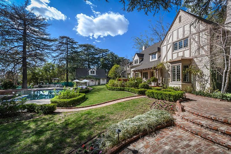 MAKE THIS BEAUTIFUL TUDOR STYLE HOME YOURS | California Luxury Homes |  Mansions For Sale | Luxury Portfolio