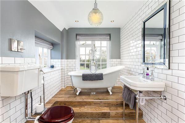 Bathroom in england