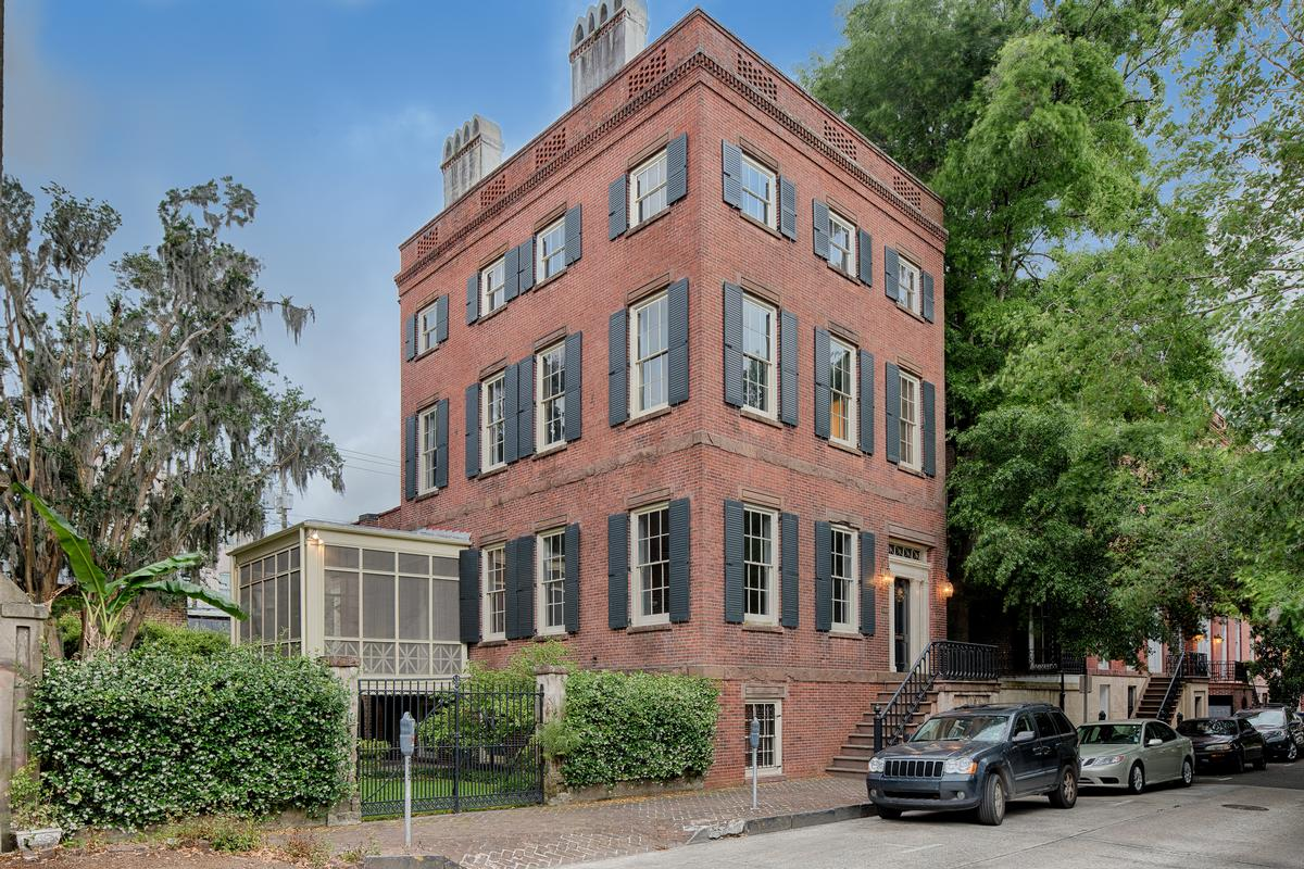 Impeccably restored home in the historic district for Historic homes for sale in georgia
