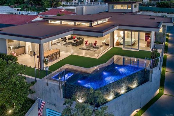 A TRUE ARCHITECTURAL MASTERPIECE | Hawaii Luxury Homes | Mansions For Sale  | Luxury Portfolio