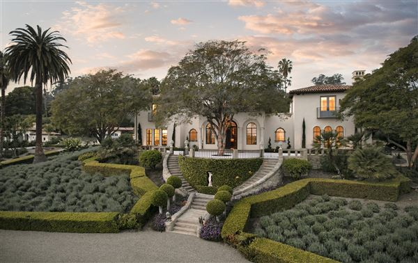 A Historic 1920s Estate In Montecito California Luxury