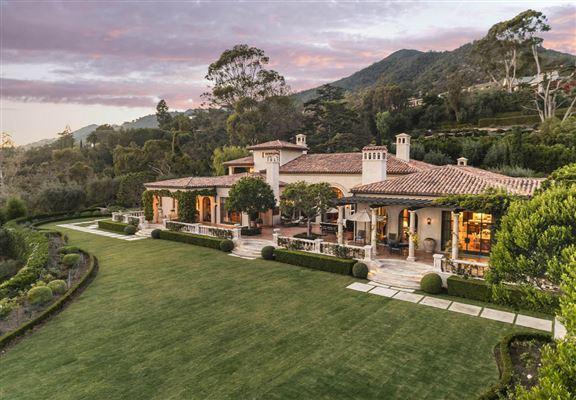 Exemplary estate in montecito california luxury homes mansions for sale luxury portfolio - Residence de luxe montecito santa barbara ...