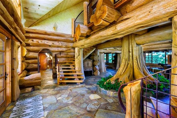 epic log home