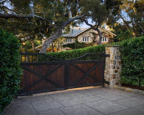 French Inspired Stone Farmhouse In Montecito California