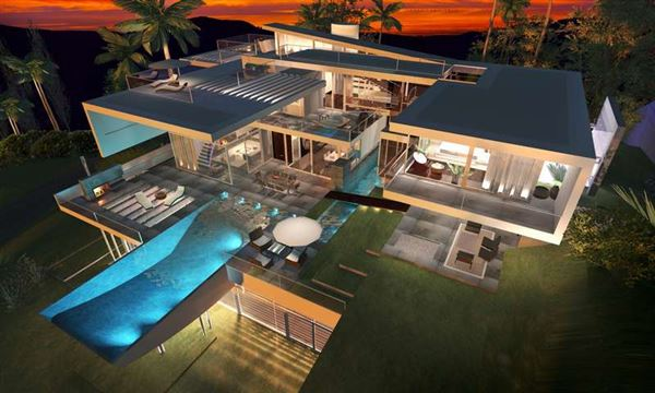 ultra modern luxury homes