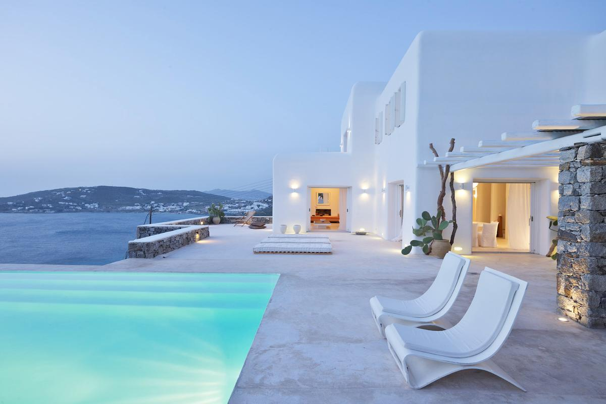 Sea Front Villa In Mykonos Greece Luxury Homes