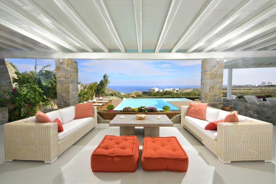 Two Floor Villa For Rent In Mykonos