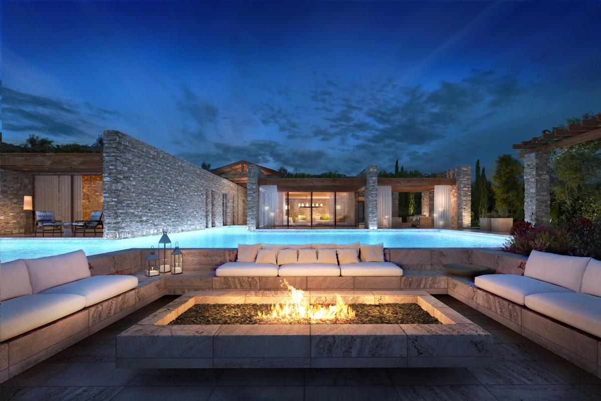 Greece luxury homes and greece luxury real estate for Luxury beachfront property for sale