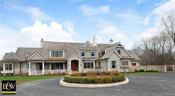 French country manor home illinois luxury homes for French country home for sale