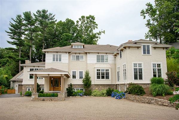 Contemporary Colonial In Newton Massachusetts Luxury
