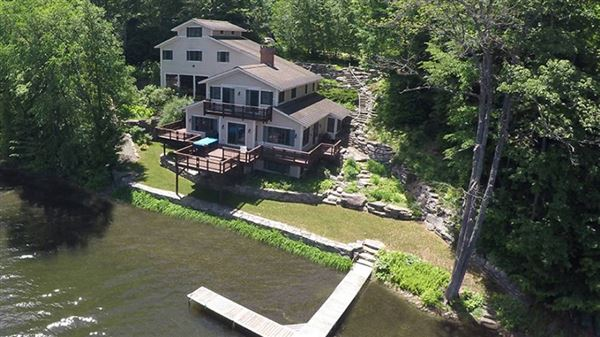 QUALITY BUILT LAKE RESCUE HOME | Vermont Luxury Homes | Mansions For Sale |  Luxury Portfolio