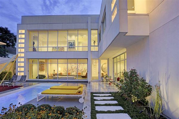 a modern masterpiece in houston | texas luxury homes | mansions