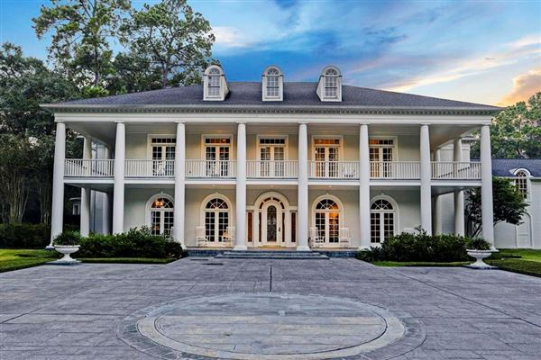 MAGNIFICENT FRENCH COLONIAL HOME Texas Luxury Homes Mansions For