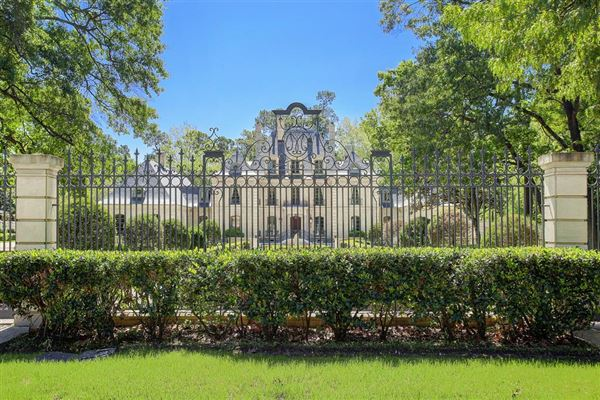 Luxury Homes Exquisite French Chateau On Private Wooded Acres