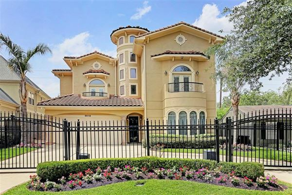 GATED CUSTOM HOME IN HOUSTON | Texas Luxury Homes | Mansions For Sale |  Luxury Portfolio