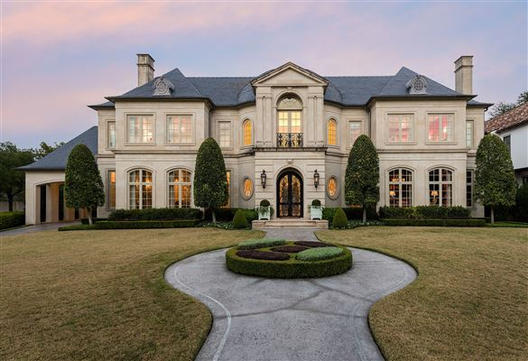 Dallas luxury homes and dallas luxury real estate for Castle style homes for sale