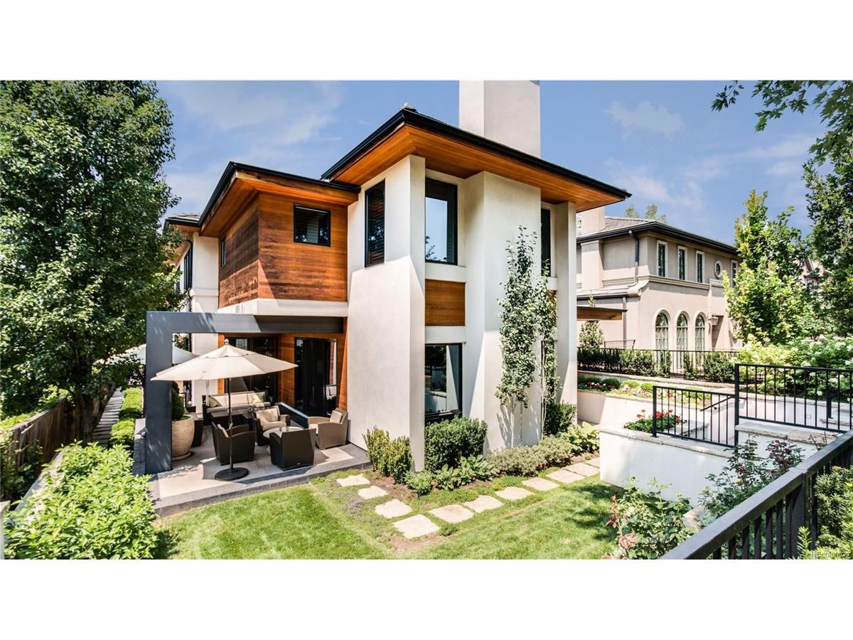 CLASSIC CONTEMPORARY ON A DESIRED BLOCK   Colorado Luxury Homes ...
