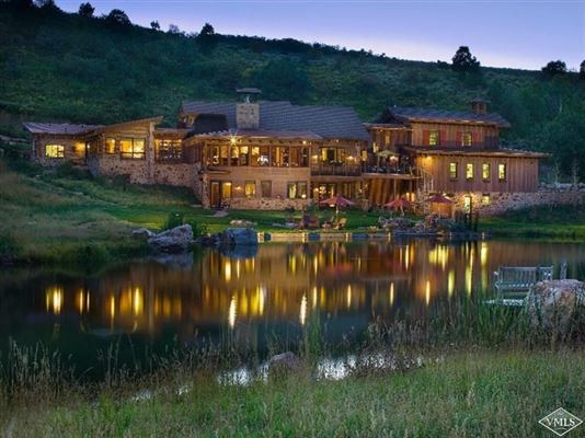 Mountain estate in eagle colorado colorado luxury homes for Secluded mountain homes for sale