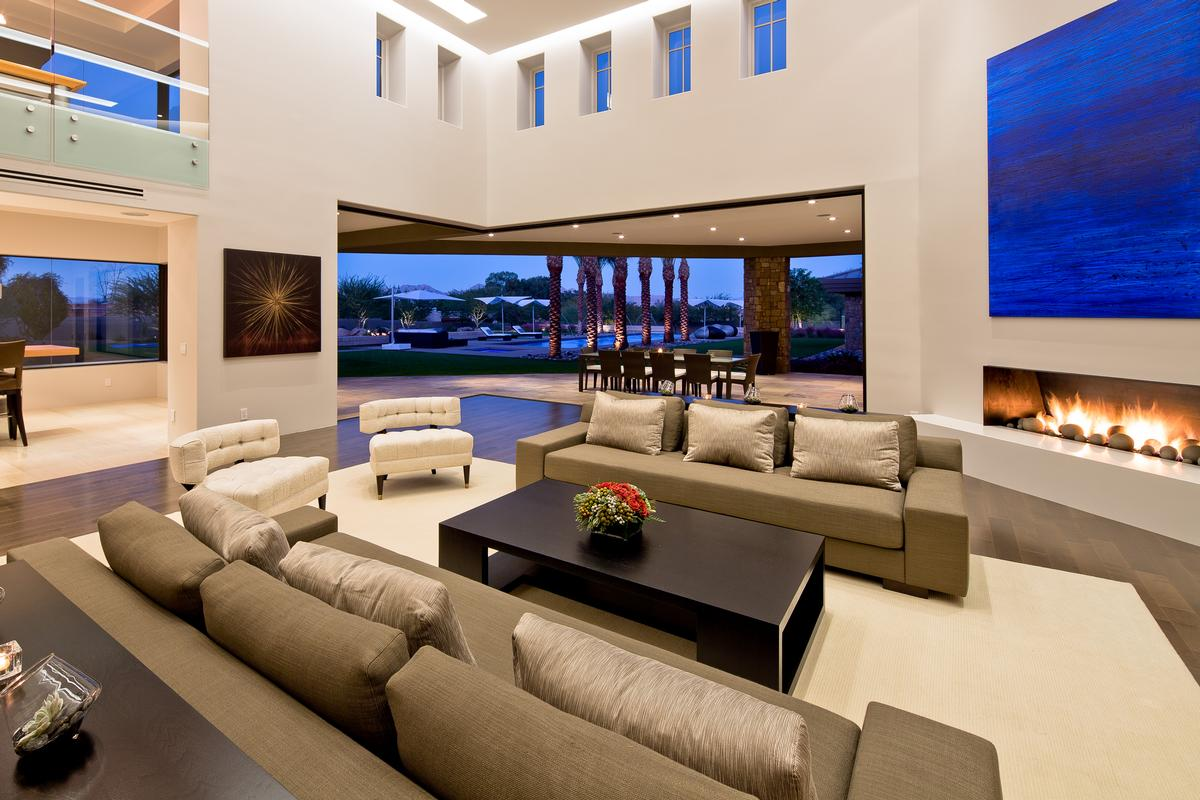 Modern Architecture A Z a refined modern estate | arizona luxury homes | mansions for sale