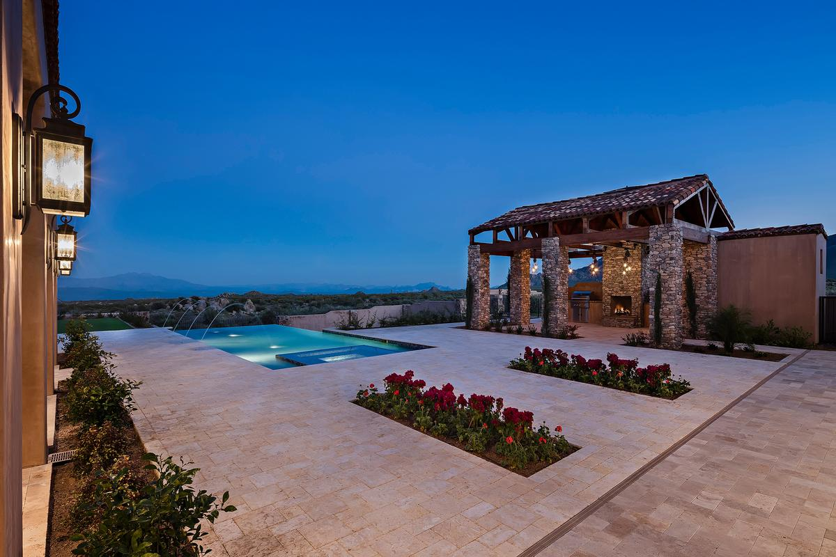 Newly Built Estate In Troon Area Of Scottsdale Arizona Luxury Homes Mansions For Sale
