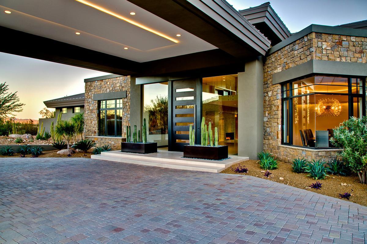 A Refined Modern Estate In Arizona Arizona Luxury Homes