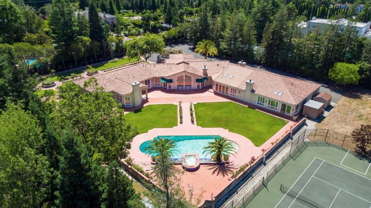 one story home mediterranean home on a flag lot california luxury real estate one story home mediterranean home on a flag lot